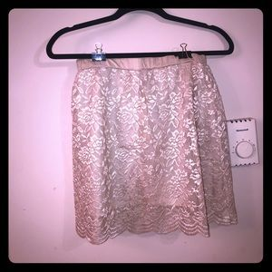 Brand new lace skirt